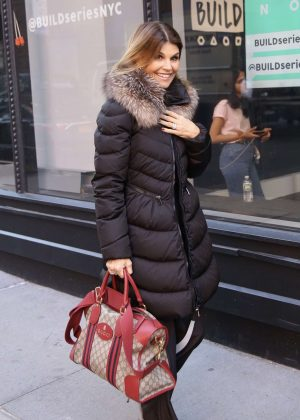 Lori Loughlin - Arriving at the Today Show in New York