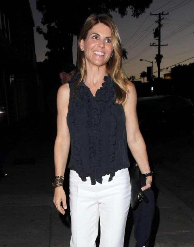 Lori Loughlin at Craig's Restaurant in West Hollywood