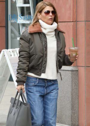 Lori Loughlin in Jeans out in Beverly Hills