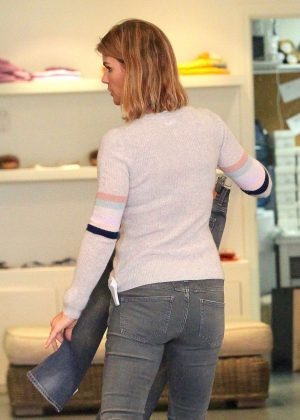 Lori Loughlin in Jeans out shopping in Beverly Hills