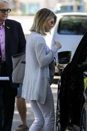 Lori Loughlin - Leaving church in LA