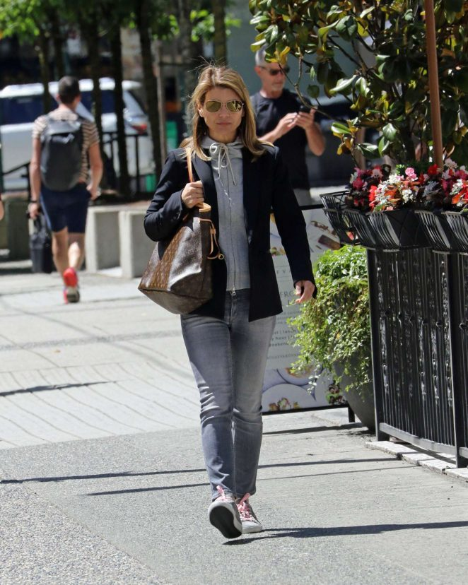Lori Loughlin out in Vancouver