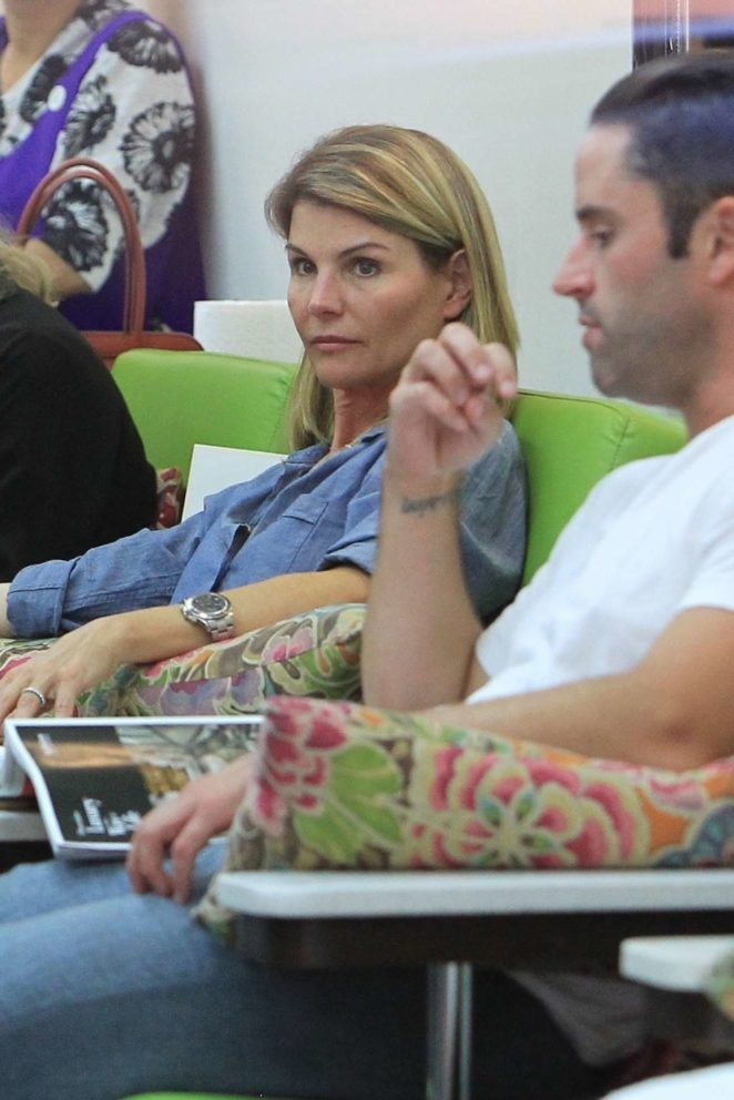 Lori Loughlin - Seen at Beverly Hills Nail Design