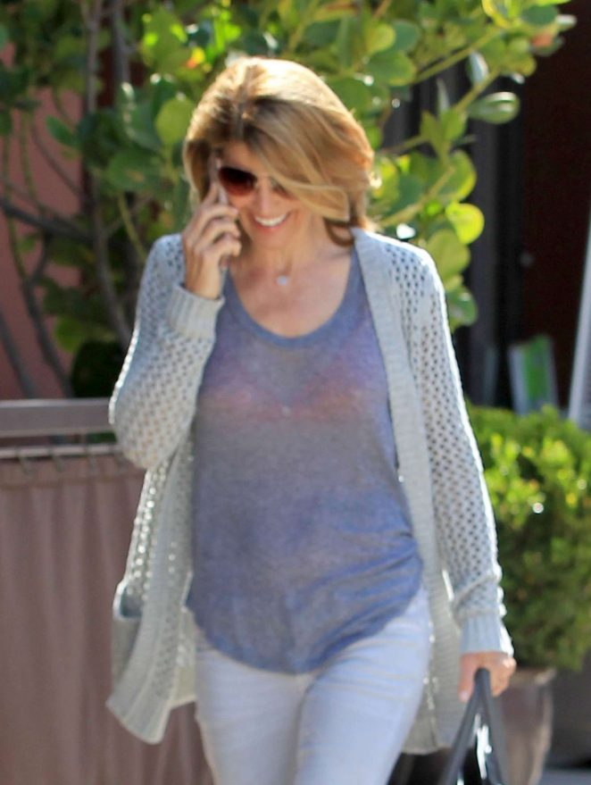 Lori Loughlin Shopping in Beverly Hills