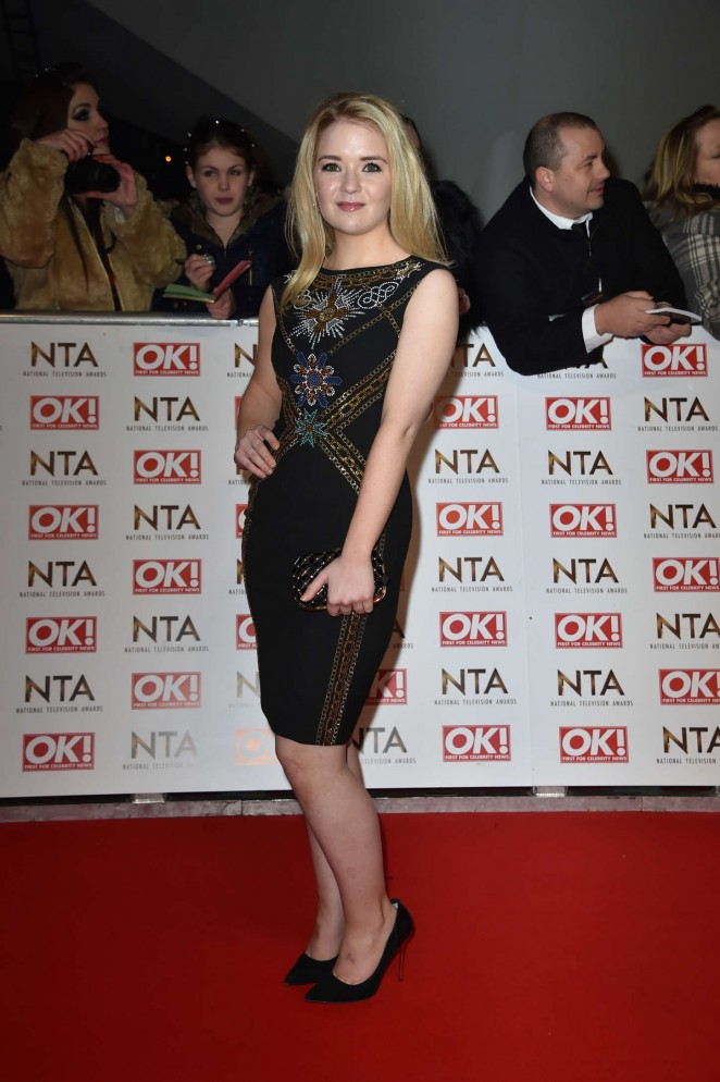 Lorna Fitzgerald - 2015 National Television Awards in London