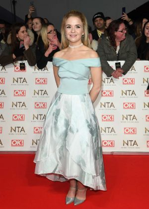 Lorna Fitzgerald - 2017 National Television Awards in London