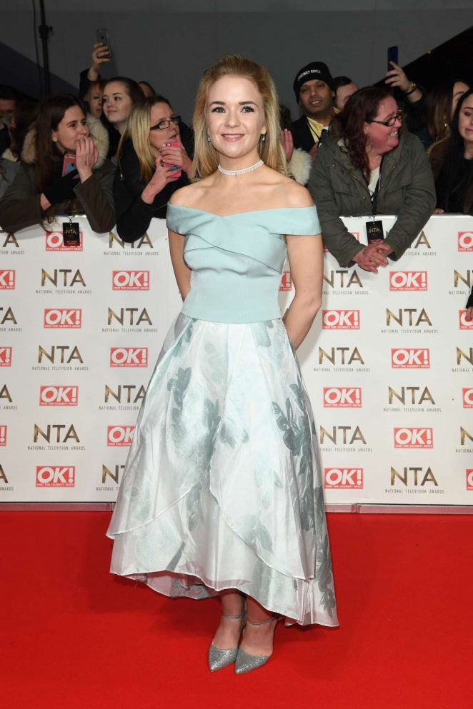 Lorna Fitzgerald – 2017 National Television Awards in London