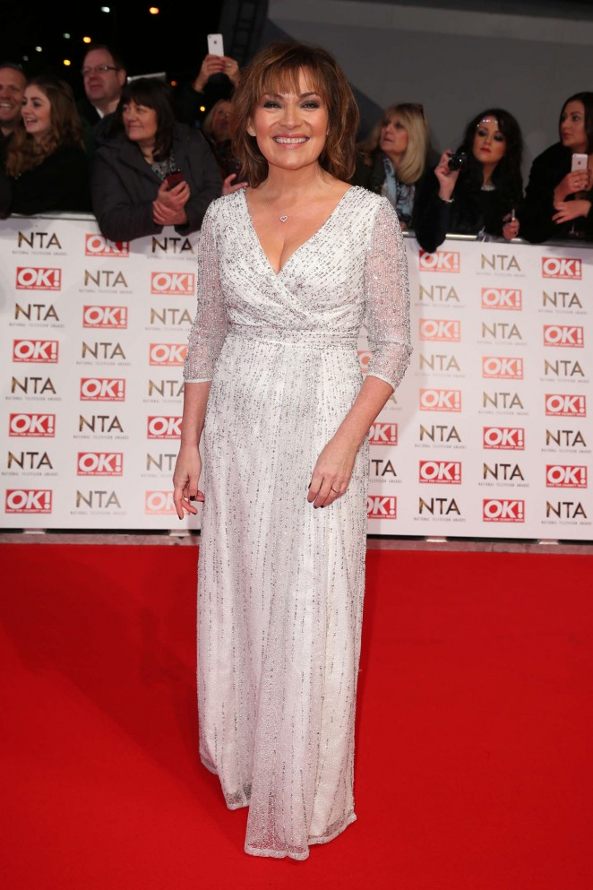Lorraine Kelly – 2015 National Television Awards in London