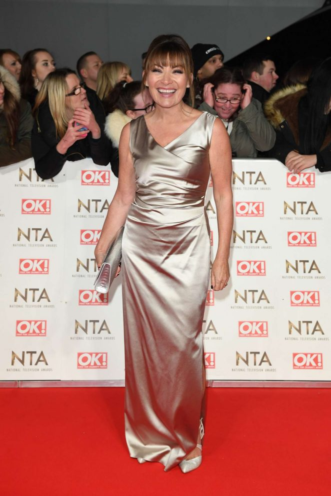 Lorraine Kelly – 2017 National Television Awards in London