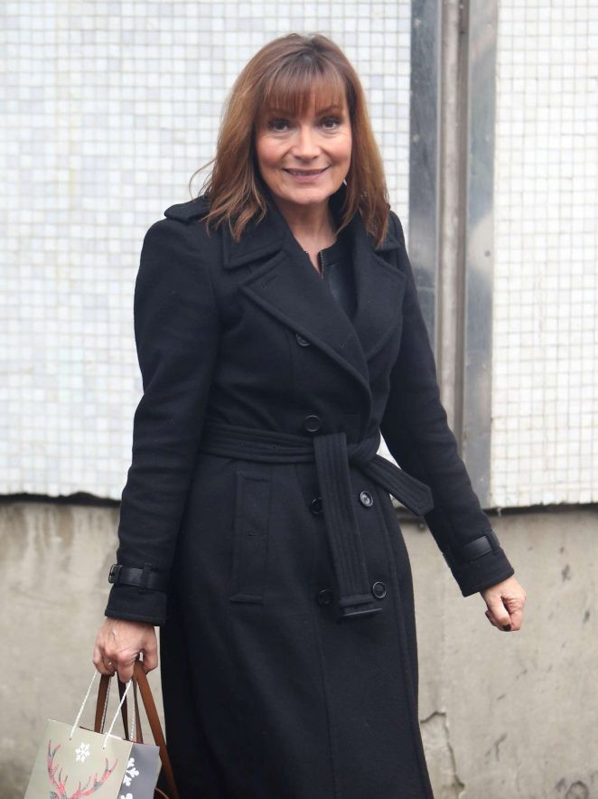 Lorraine Kelly at ITV Studios in London