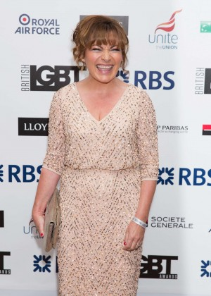 Lorraine Kelly - LGBT Awards 2015 in London
