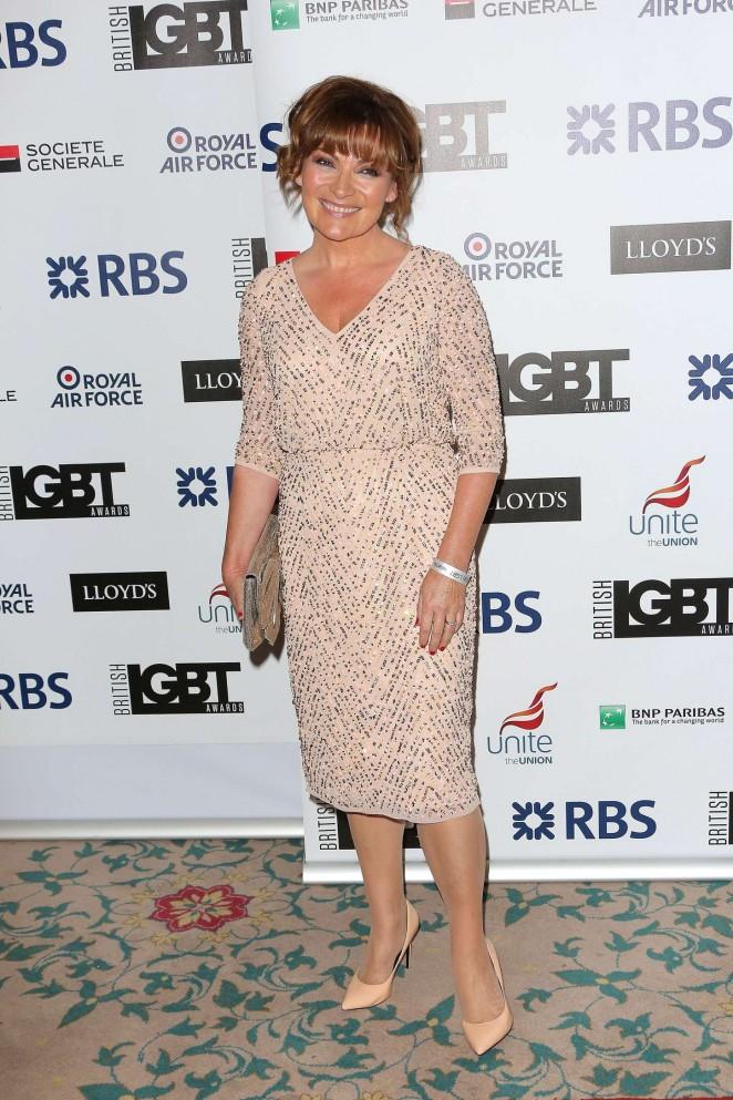 Lorraine Kelly: LGBT Awards 2015 -06