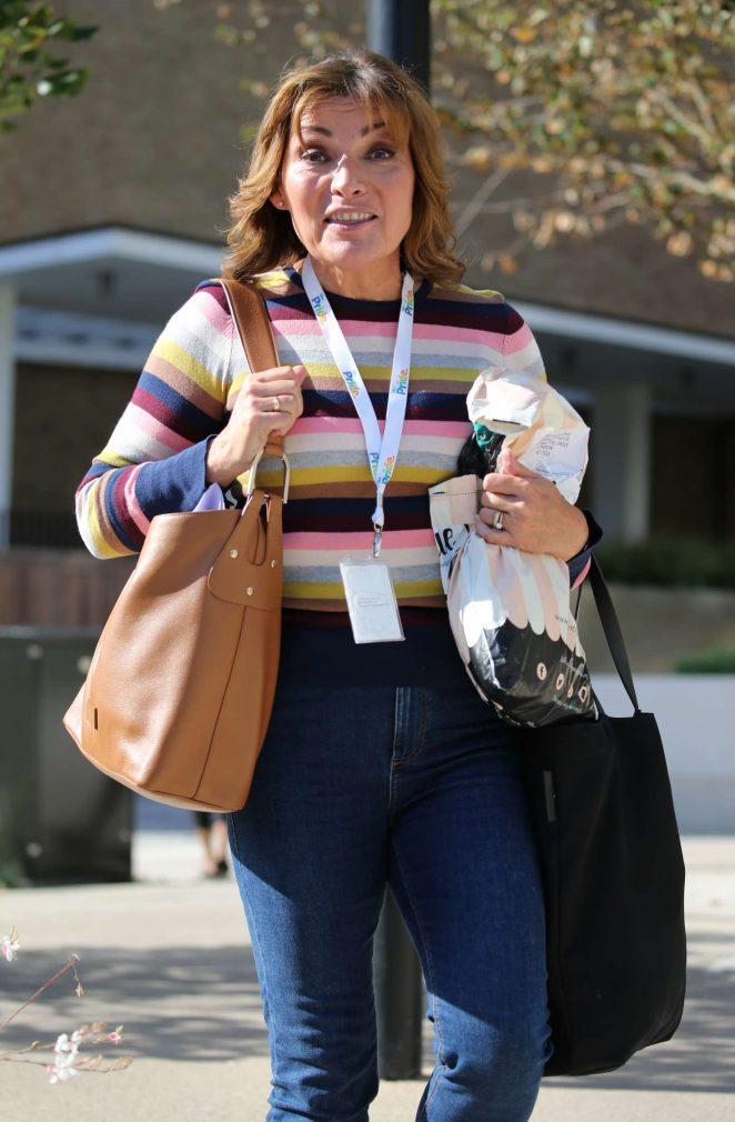 Lorraine Kelly – Outside ITV Studios in London