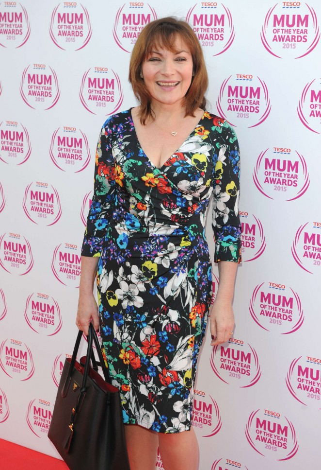 Lorraine Kelly - Tesco Mum Of The Year Awards 2015 in London