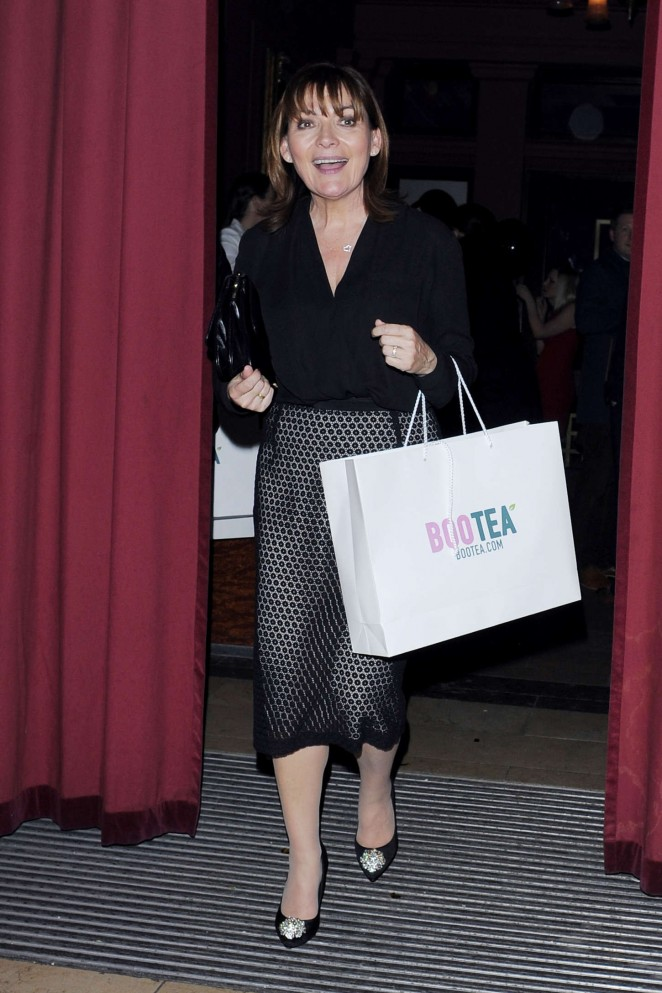 Lorraine Kelly - The Sun: Bizarre Party 2015 in London