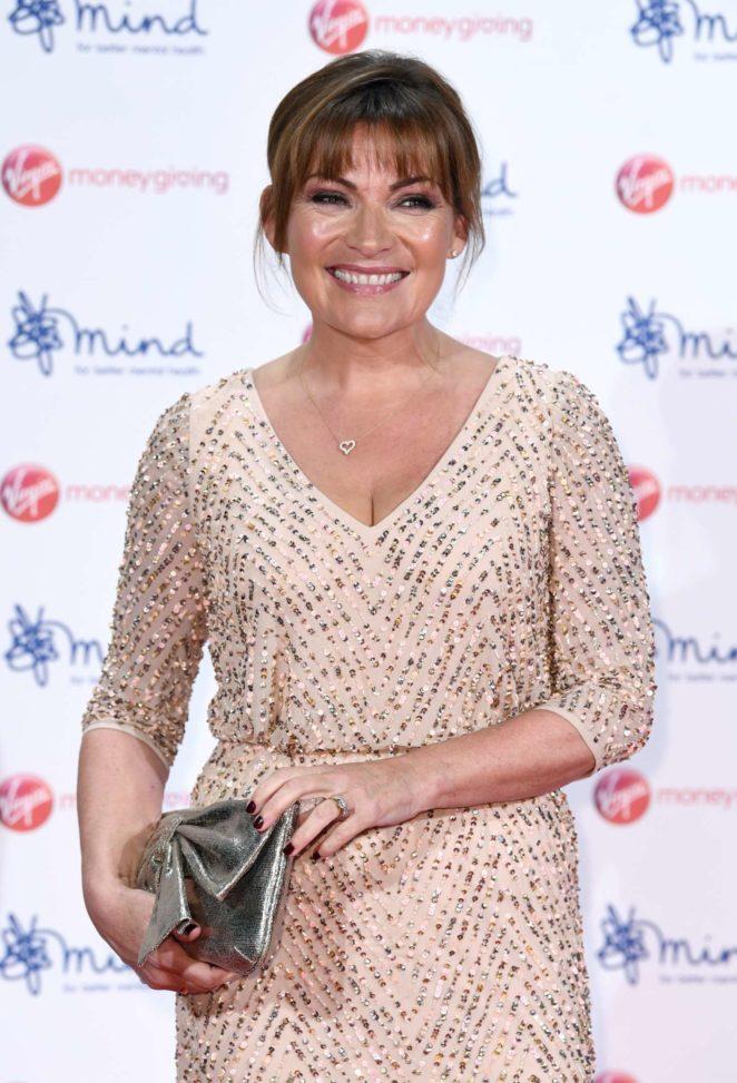 Lorraine Kelly - Virgin Money Giving Mind Media Awards 2017 in London