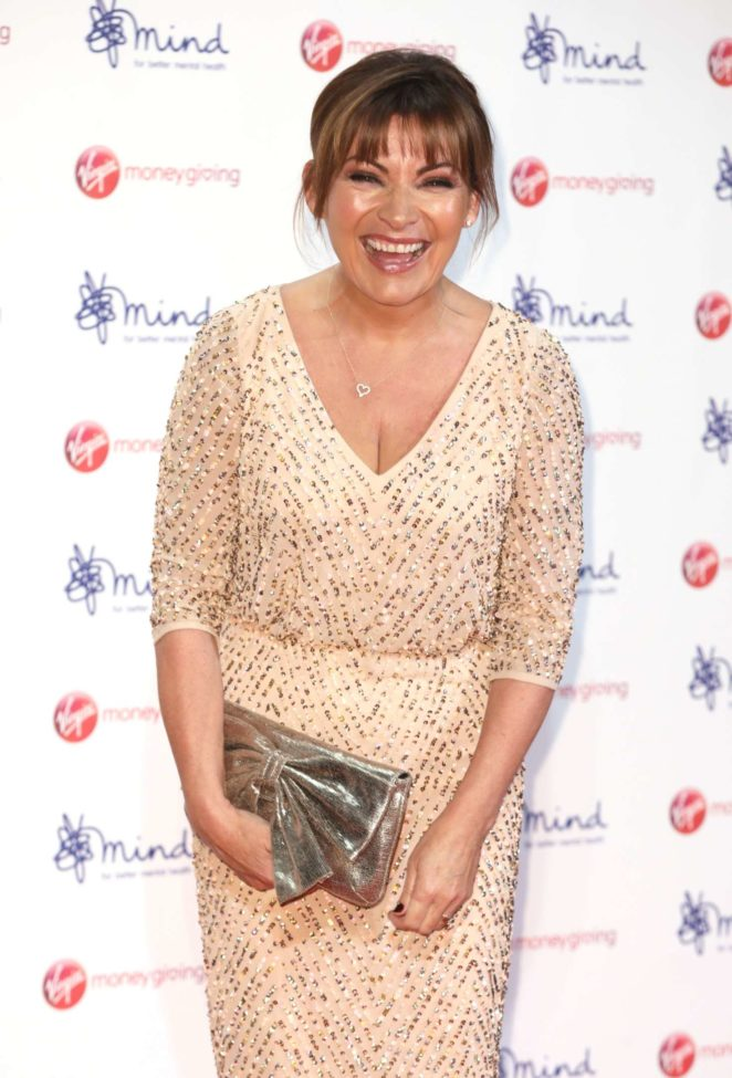 Lorraine Kelly: Virgin Money Giving Mind Media Awards 2017 -11