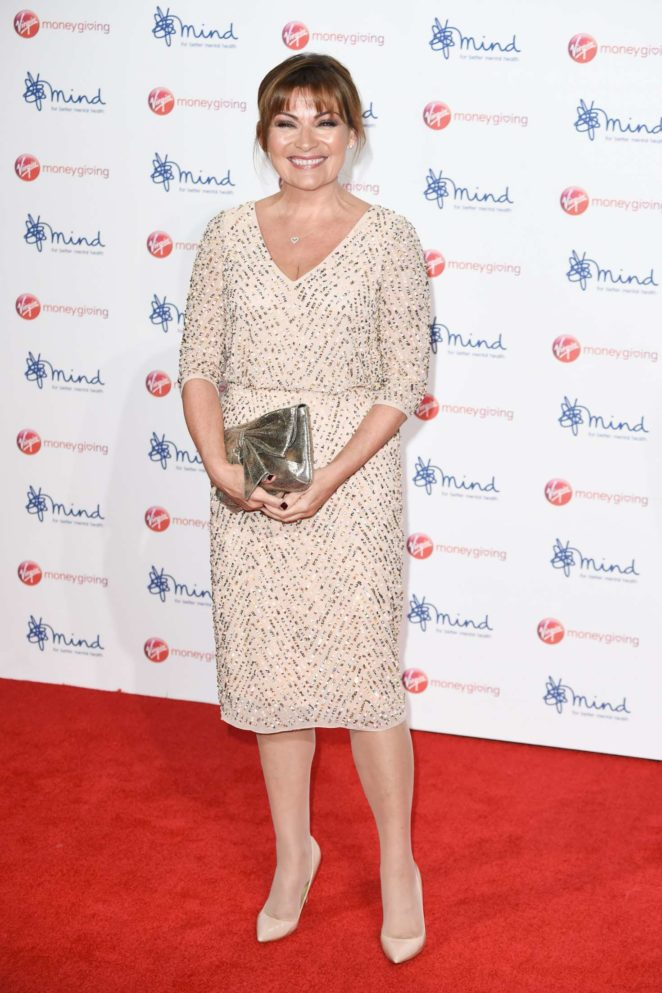 Lorraine Kelly: Virgin Money Giving Mind Media Awards 2017 -19