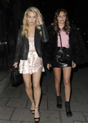Lottie Moss and Emily Blackwell - Arrives at 'I Saw It First' Launch Party in London