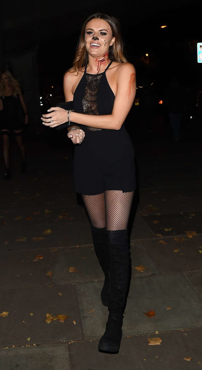 Lottie Moss and Emily Blackwell: One Embankment Halloween Party -42