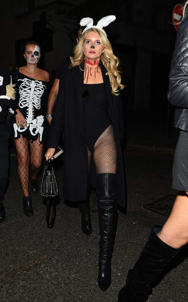 Lottie Moss and Emily Blackwell: One Embankment Halloween Party -45
