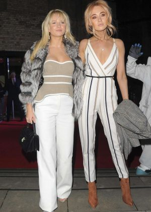 Lottie Moss and Nicola Hughes - Arrives at Fabulous Fund Fair Gala in London