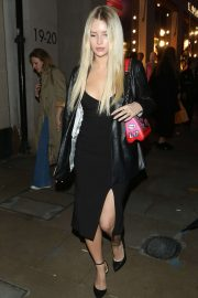 Lottie Moss - Arrives at Grand Reopening of the Flagship Louis Vuitton Store in London