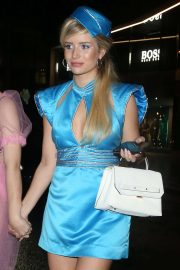 Lottie Moss - Arriving at the Halloween Party in London