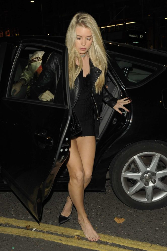 Lottie Moss at Kensington night Club -04