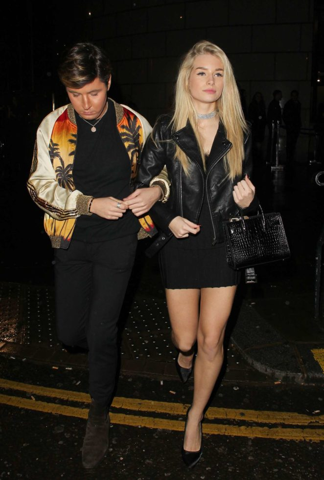 Lottie Moss at Kensington night Club -06