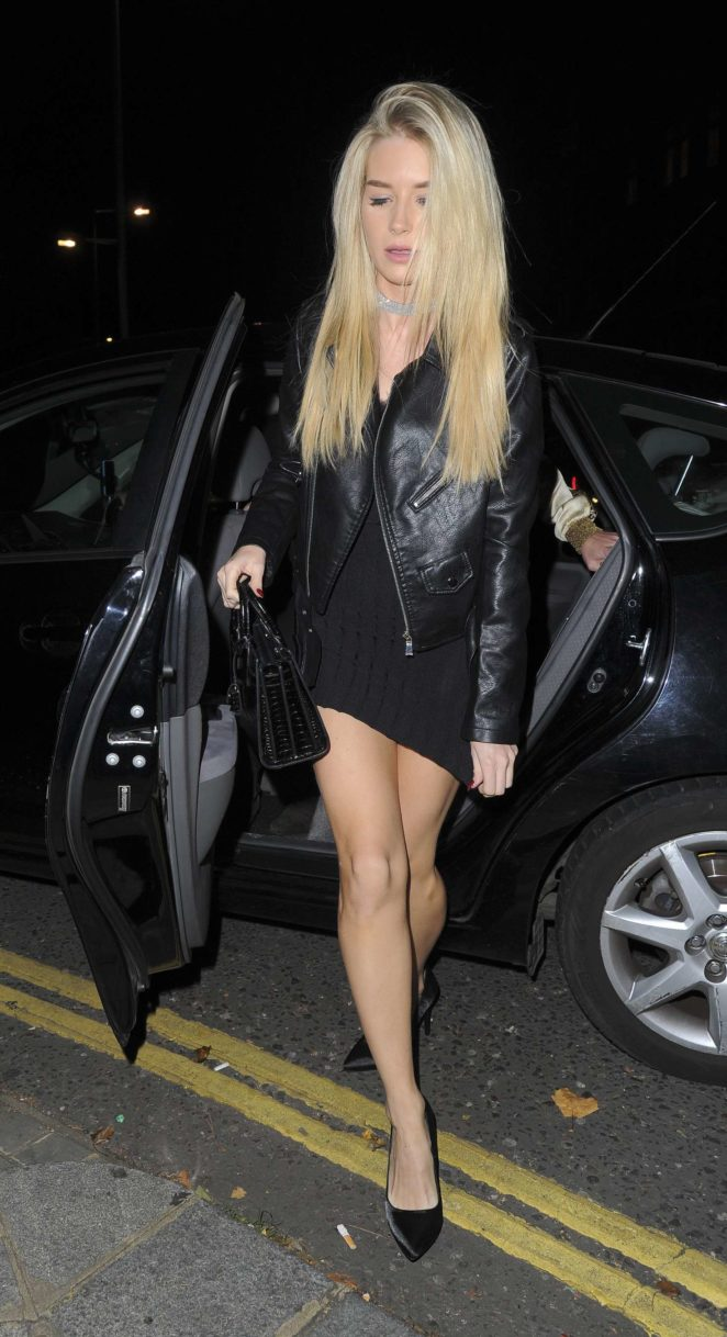 Lottie Moss at Kensington night Club -08