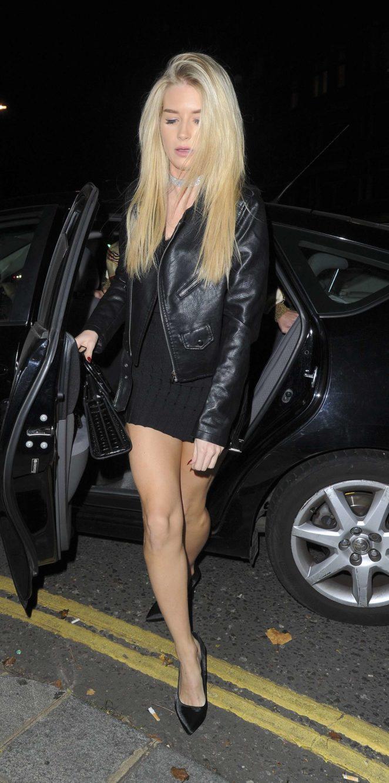 Lottie Moss at Kensington night Club -13