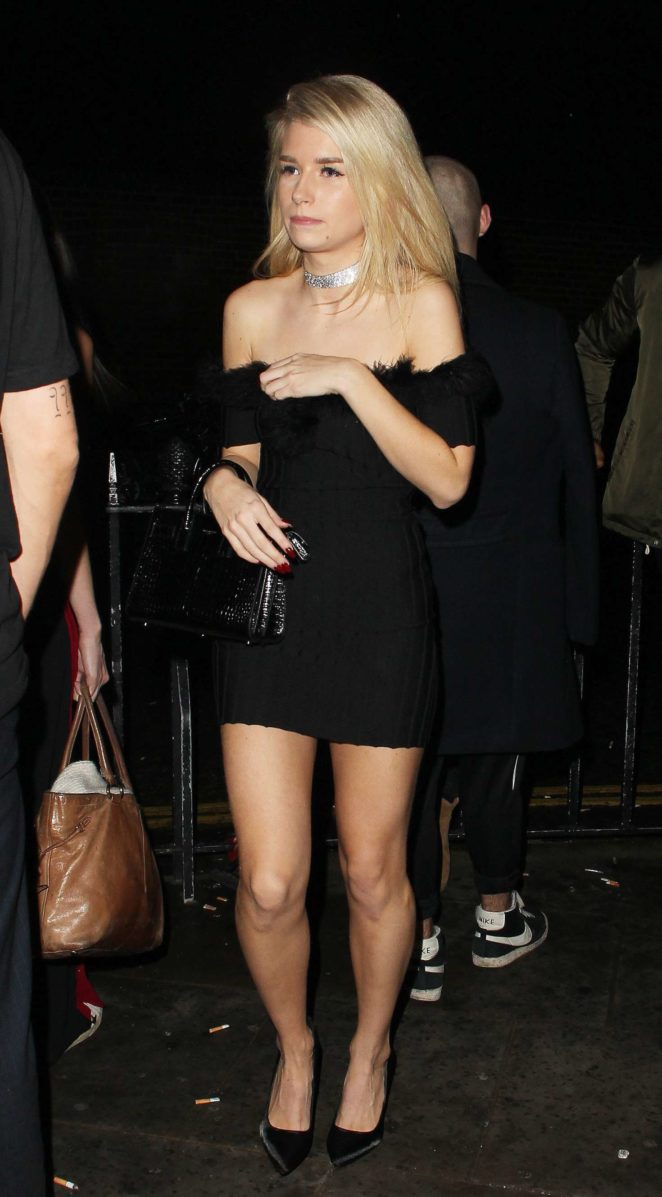Lottie Moss at Kensington night Club -14