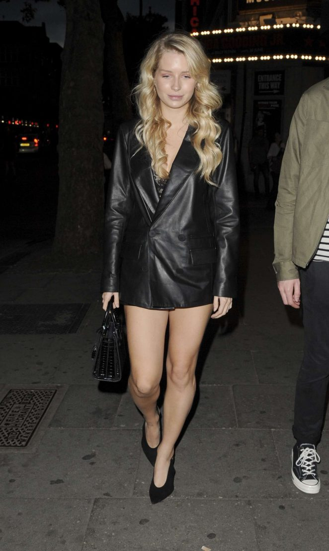 Lottie Moss – Attends at TopShop Party in London