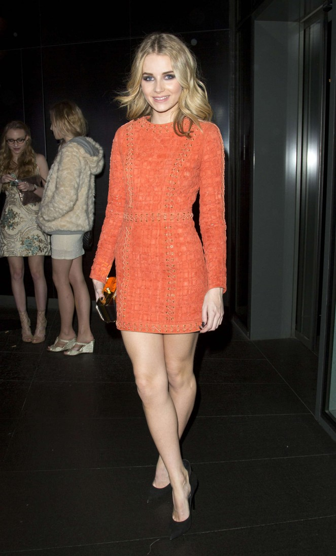 Lottie Moss - Celebrates her 18th Birthday at the W Hotel in London