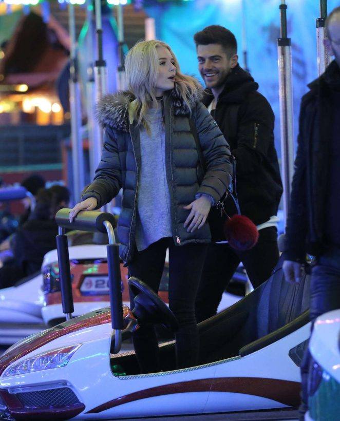 Lottie Moss - Hyde Park Winter Wonderland VIP Launch in London