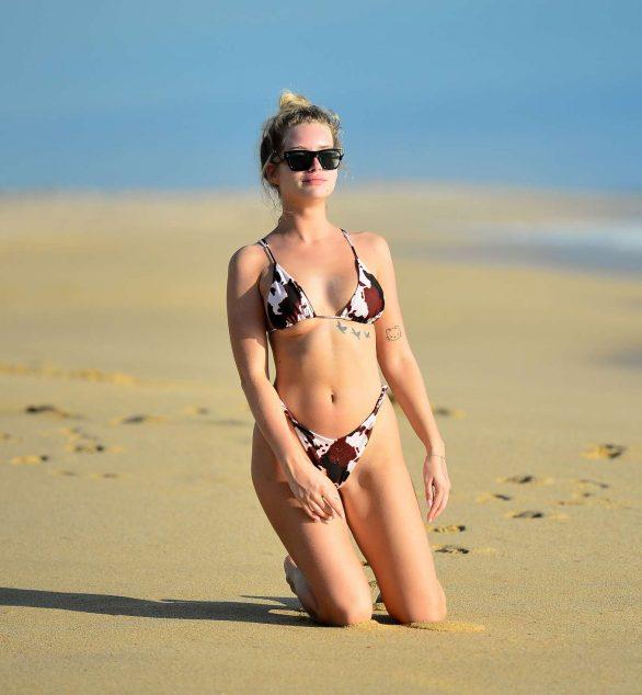 Lottie Moss in Bikini at the Nobu hotel in Cabo san Lucas