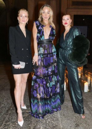 Lottie Moss, Jasmine Sanders and Sofia Richie - Vogue Italia and Place Vendome Party in Milan