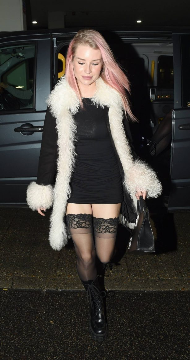 Lottie Moss - Leaves the Ivy Chelsea Garden after dinner in London