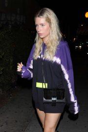 Lottie Moss - Leaving Delilah in West Hollywood