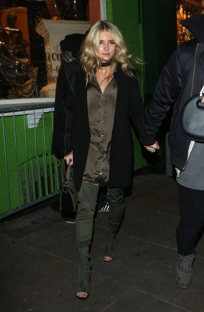 Lottie Moss: Leaving Embargo nightclub -05