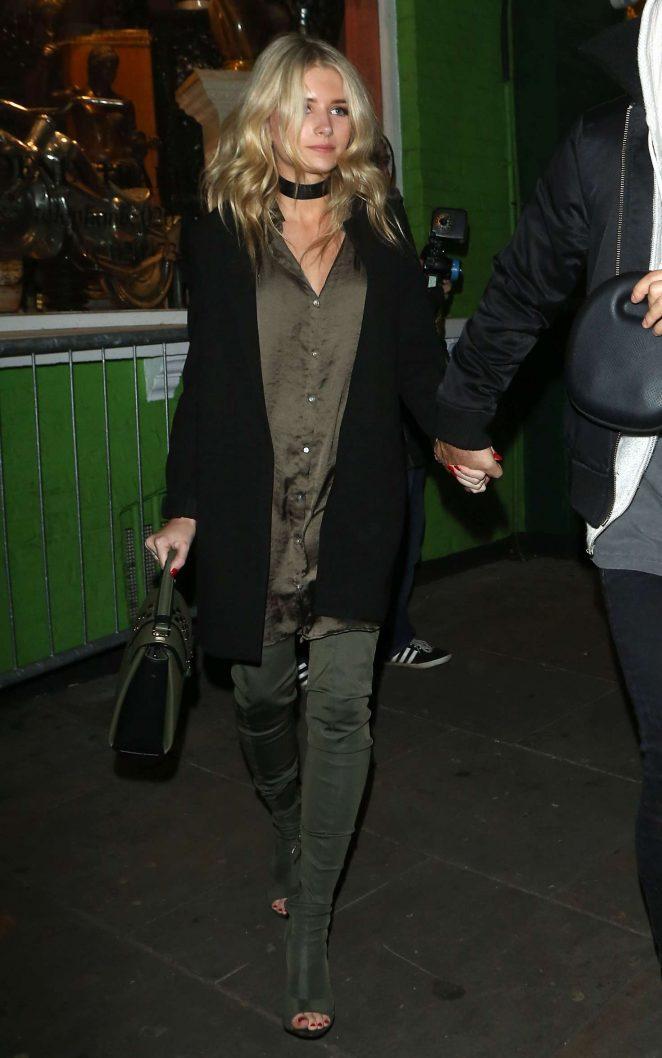 Lottie Moss: Leaving Embargo nightclub -08