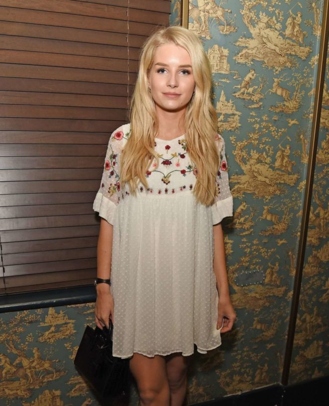 Lottie Moss - Mimibee Magazine's Launch Party in London