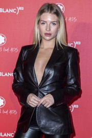 Lottie Moss - Montblanc Launch Collection To Benefit RED in Paris