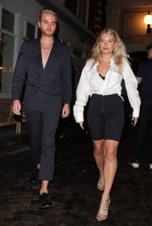 Lottie Moss - On a night out at Bluebird Chelsea