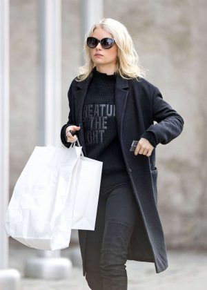 Lottie Moss out shopping in New York