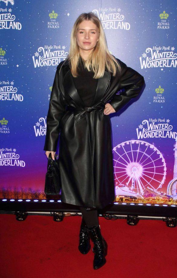 Lottie Moss - The launch of Hyde Park Winter Wonderland 2019 in London