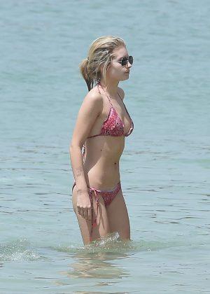 Lottie Moss: Bikini 2016-18