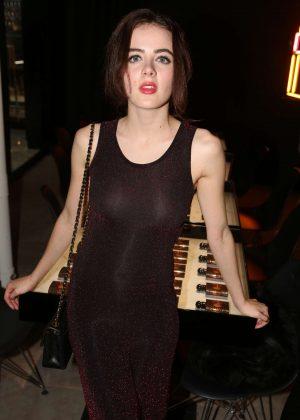 Lou Gala at Yves Saint Laurent night in Paris