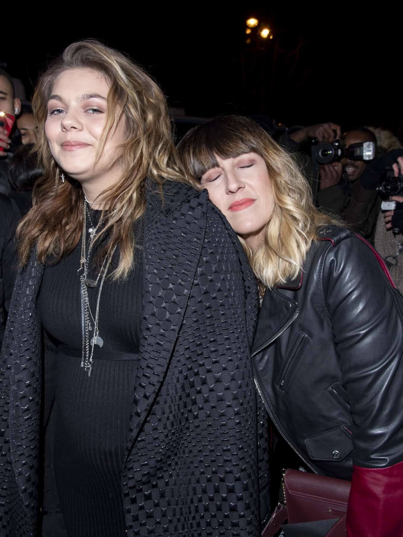 Louane Emera Outside The Jean Paul Gaultier Show In Paris 03 Gotceleb